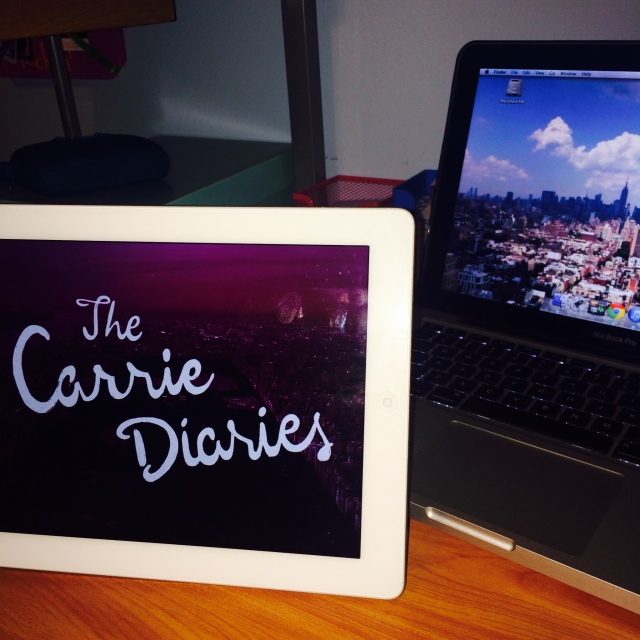 Carrie Diaries on iPad